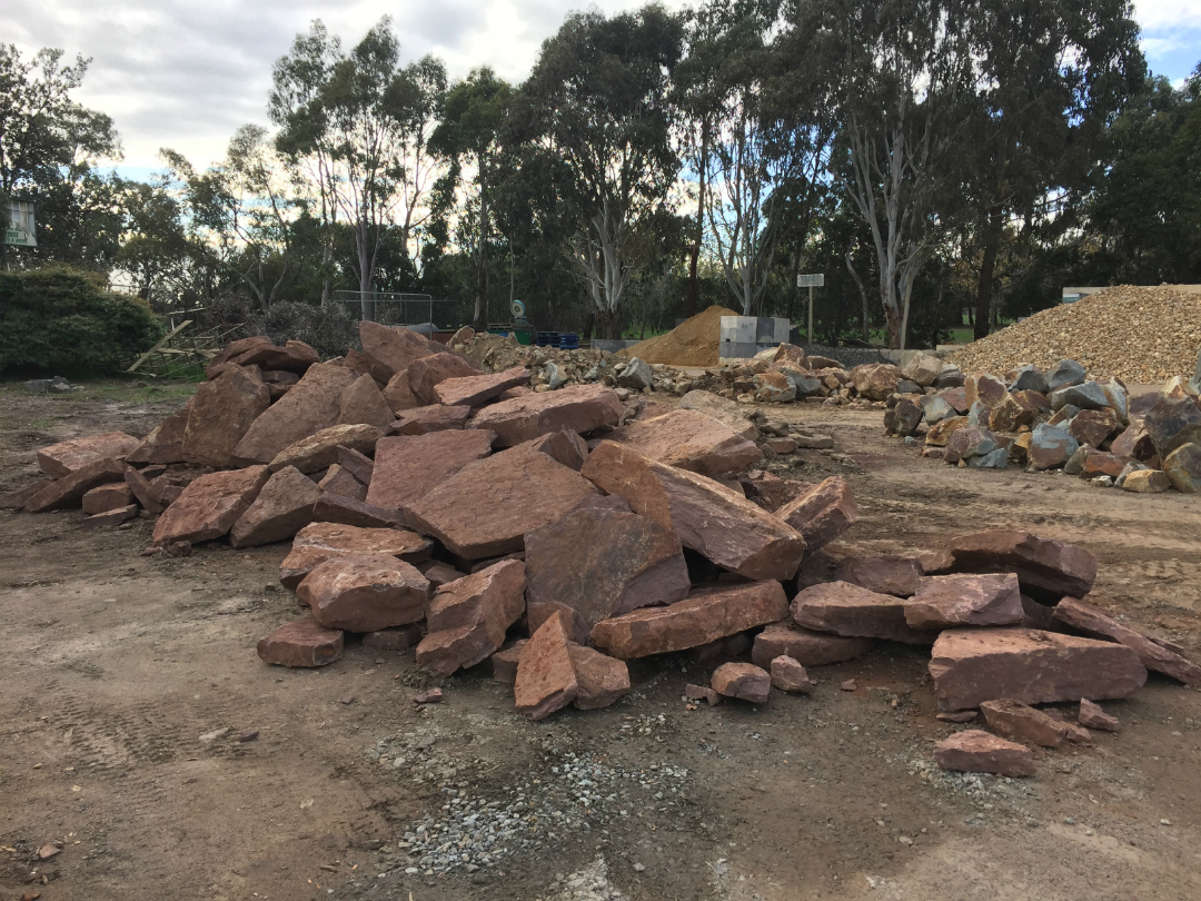Landscape rocks donnellys garden supplies for Landscaping rocks melbourne
